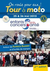 Tour à moto «Enfants et Santé» 2013